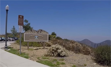 Double Peak Park at 12 minutes drive to the south of San Marcos dentist Allred Dental