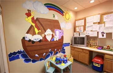 Kids Play Area at Federal Way dentist Avalon Family Dentistry