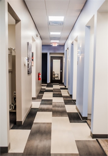 Hallway at Witer Family Dentistry Washington MI