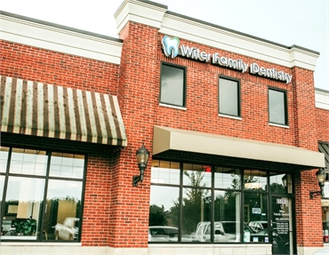 Storefront view Witer Family Dentistry Washington MI