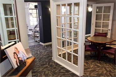 Office interior of Bradley Rule DDS