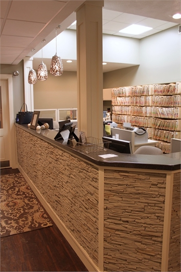 Office entrance of Dental Health Care of Woburn P.C. family dentistry