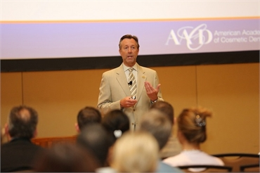Waldorf MD dentist Bradley Olson DDS speaking at continued education conference
