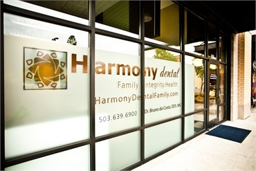 Beaverton OR Dentistry Harmony Dental entry way