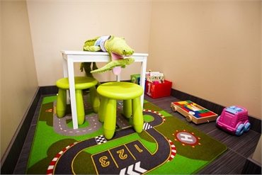 Beaverton OR Dentistry Harmony Dental childrens play room