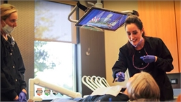 Sioux Falls dental hygienist at work at Karmazin Dental