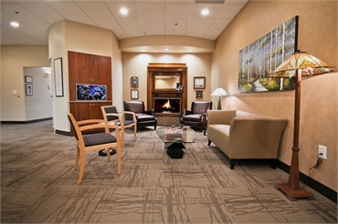 NorthStar Dentistry For Adults lobby area of Huntersville