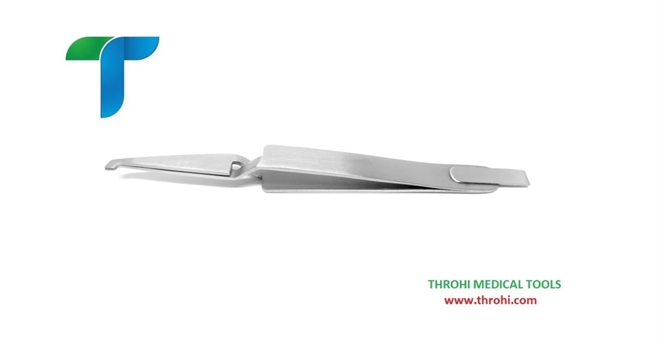 BRACKET TWEEZERS WITH ALIGNER TAIL