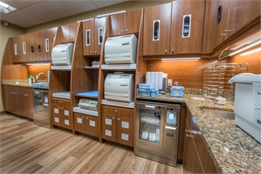 Advanced Dentistry South Florida sterilization room