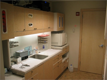 Inhouse laboratory at Dr. Timmerman's office in Tukwila WA
