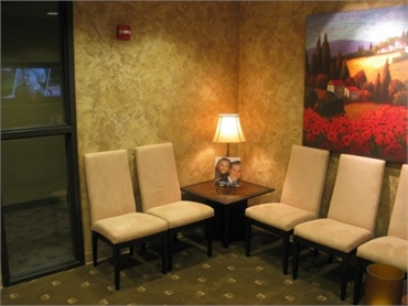 waiting area tukwila dentist timmerman dmd