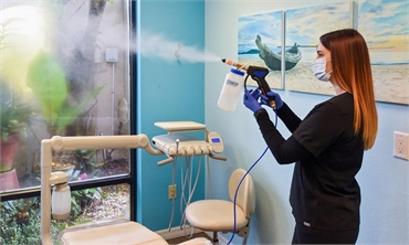 Sanitizing the Dental Office
