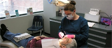 Dental braces procedure at State of the Art Dental Group