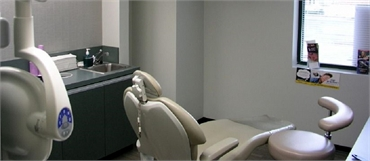 Exam room at State of the Art Dental Group