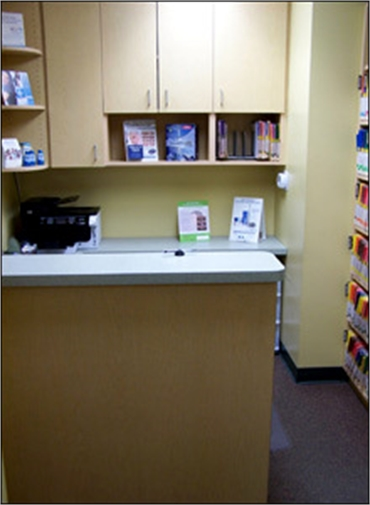 Business office at Bancroft Family Dental Aurora