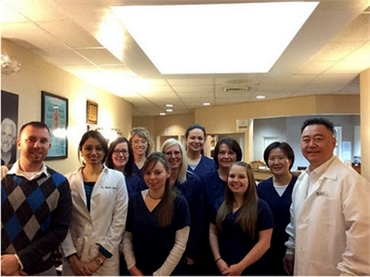 The team at your family dentistry A Caring Dental Group in Cleveland