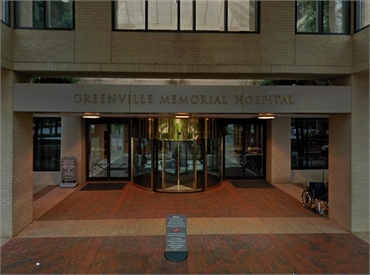 Greenville Memorial Hospital 14 minutes drive to the southwest of Greenville dentist Greenville Fami