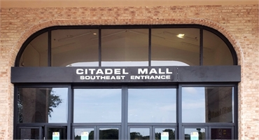 Citadel Mall at 6 minutes drive to the north of Charleston Family Dentistry