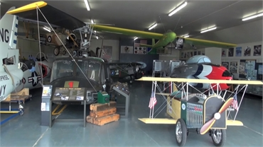 Illinois Aviation Museum at 6 minutes drive to the north of Bolingbrook dentist Innova Family Dental