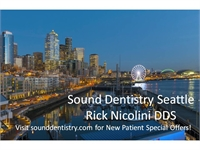 Sound Dentistry Seattle Rick Nicolini DDS
